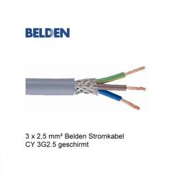 Belden Stromkabel Netzkabel CY 3G2.5 Geschirmt