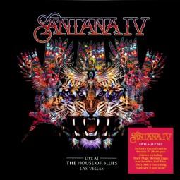 Santana IV - Live At The House Of Blues, Las Vegas (3 LPs, 1 DVD  180g Audiophile VINYL)